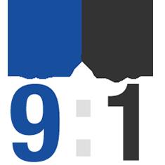 男性9:女性1